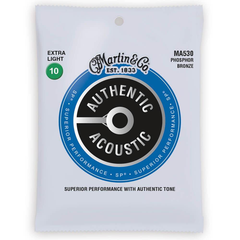 Martin MA530 Acoustic SP, Phosphor Bronze, X-Light, 10-47