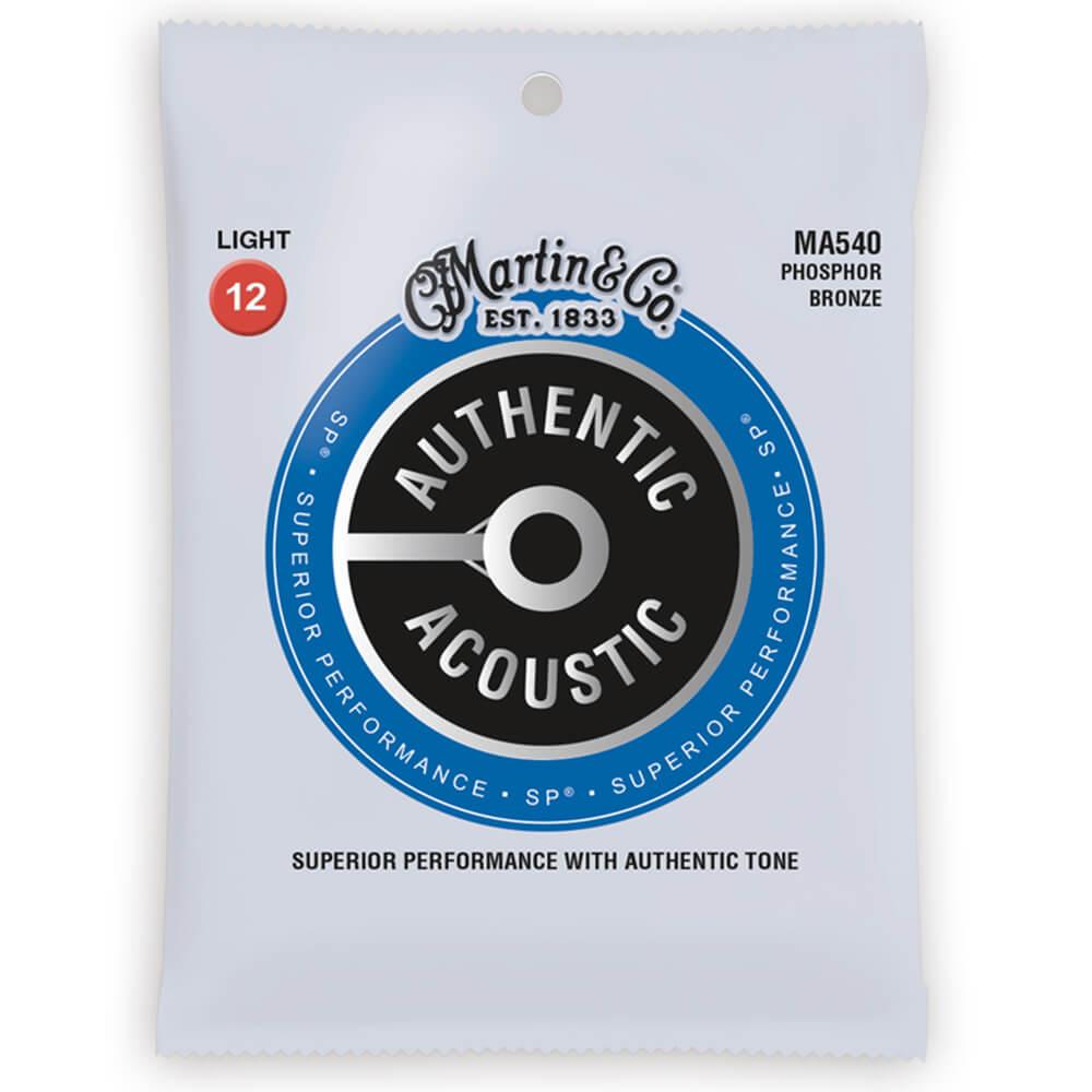 Martin MA540 Acoustic SP, Phosphor Bronze, Light, 12-54