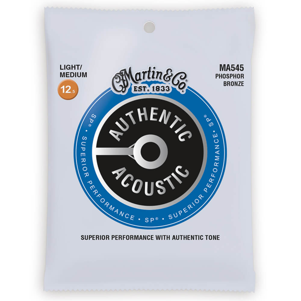 Martin MA545 Acoustic SP, Phosphor Bronze, Light Medium, 12.5-55