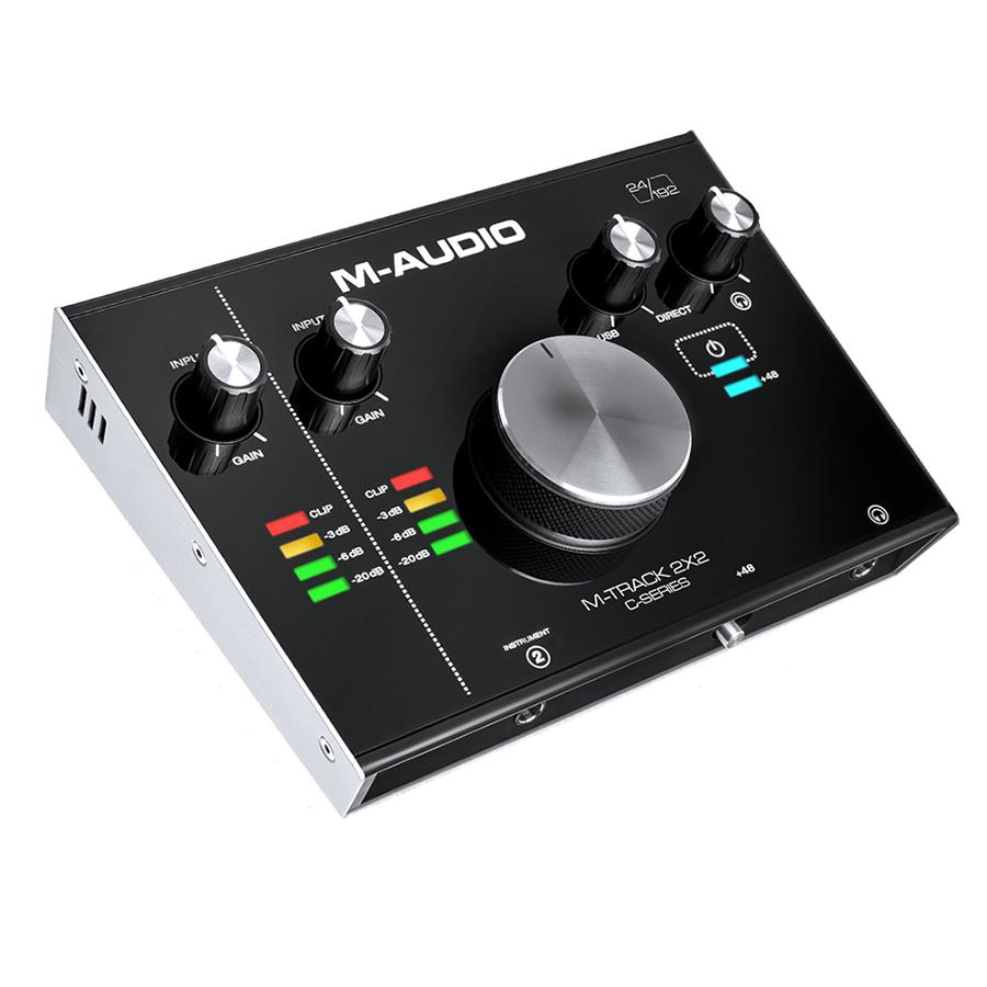 M Audio M-Track 2x2 USB Audio Interface