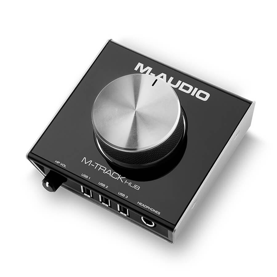 M Audio M-Track Hub USB Audio Interface