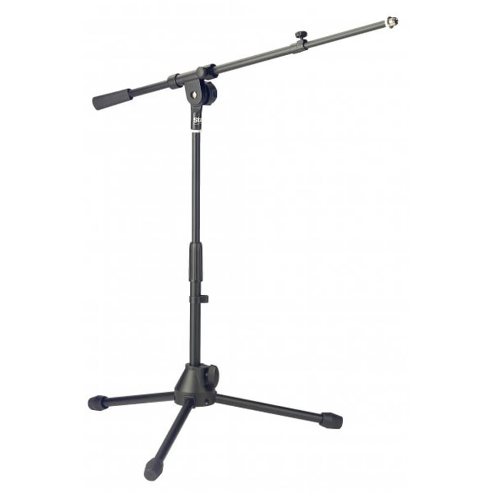 Stagg MIS-2004BK Low Profile Microphone Stand