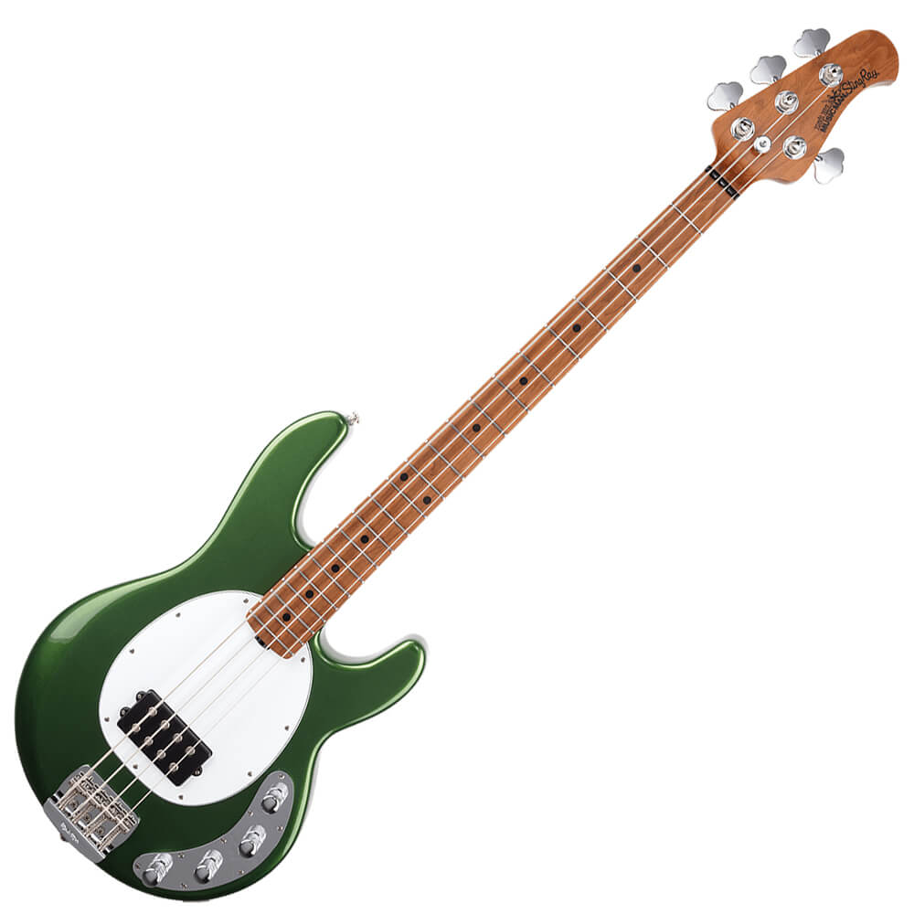 Music Man StingRay Special - RM - Charging Green