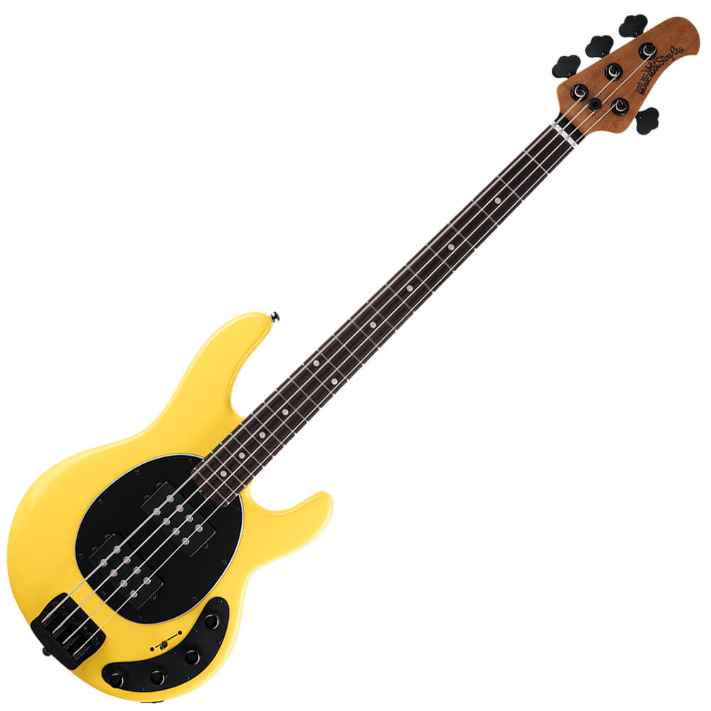 Music Man StingRay HH Special - RW - HD Yellow