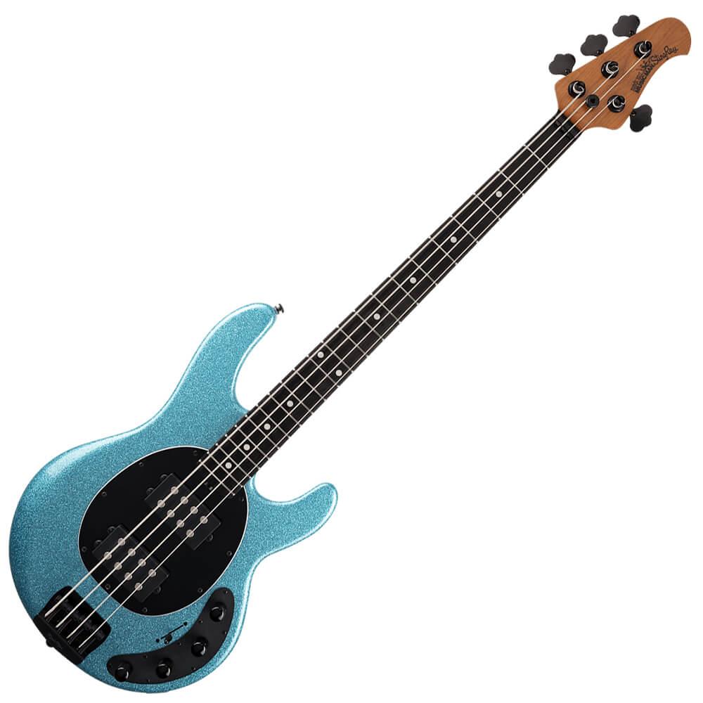 Music Man StingRay HH Special - EB - Aqua Sparkle