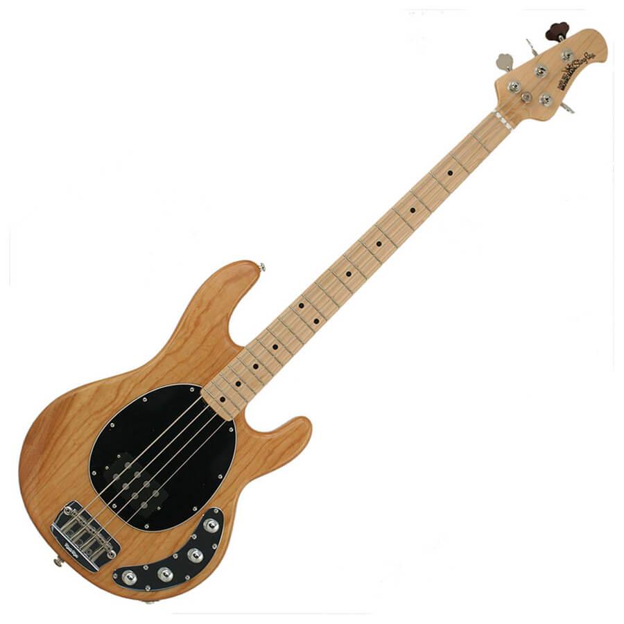Music Man Stingray 4 - 3 Band EQ - Maple Neck - Natural