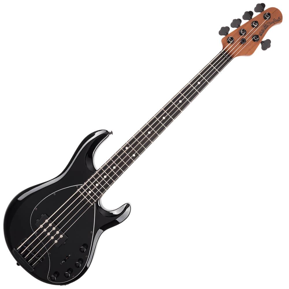 Music Man StingRay5 Special - EB - Jet Black