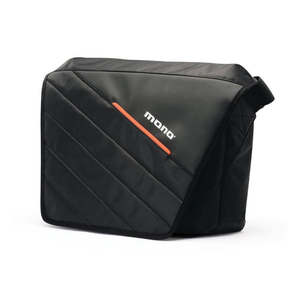 Mono Stealth Relay Messenger Bag, Black