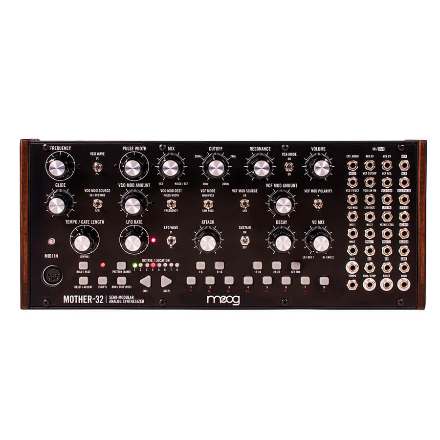 moog mother 32 semi modular analog synthesizer rich tone music. Black Bedroom Furniture Sets. Home Design Ideas