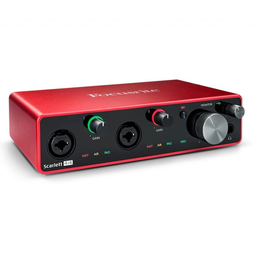 Focusrite Scarlett 4i4 USB Audio Interface (3rd Gen)