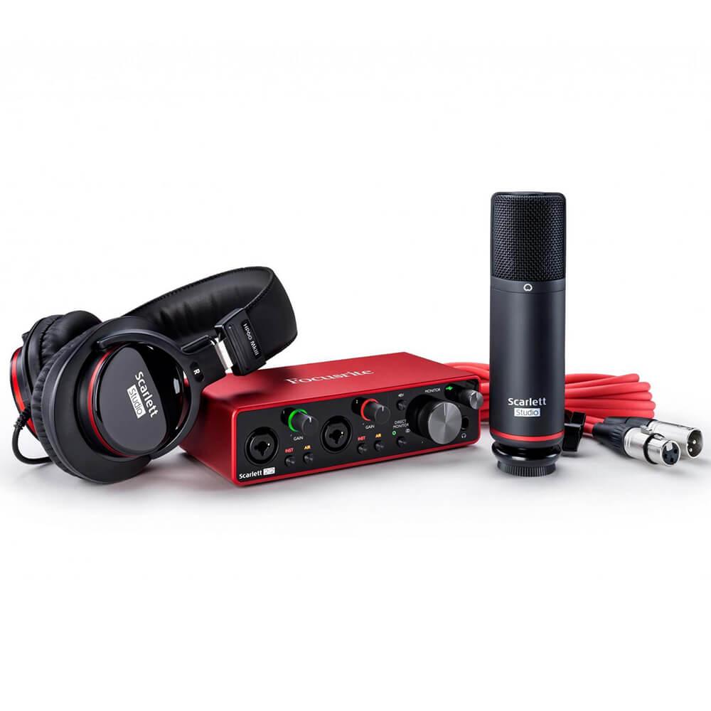 Focusrite Scarlett 2i2 Studio USB Audio Interface Pack (3rd Gen)