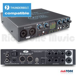 Focusrite Saffire Pro 24 DSP FireWire Audio Interface