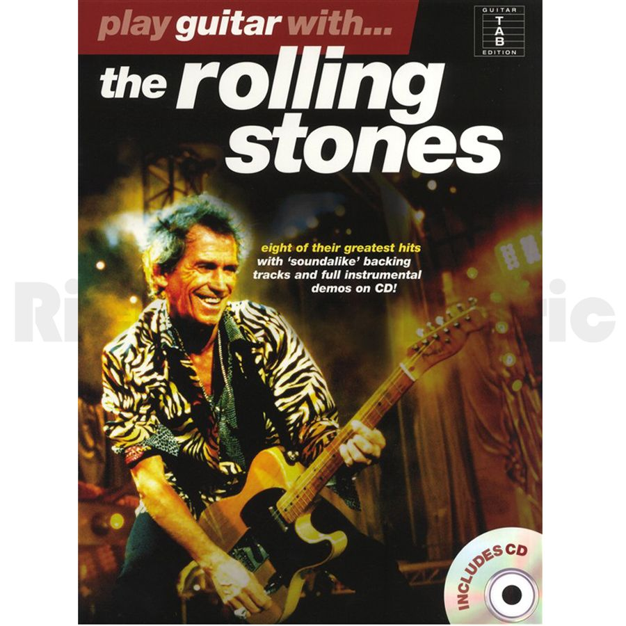 how to play the rolling stones on guitar