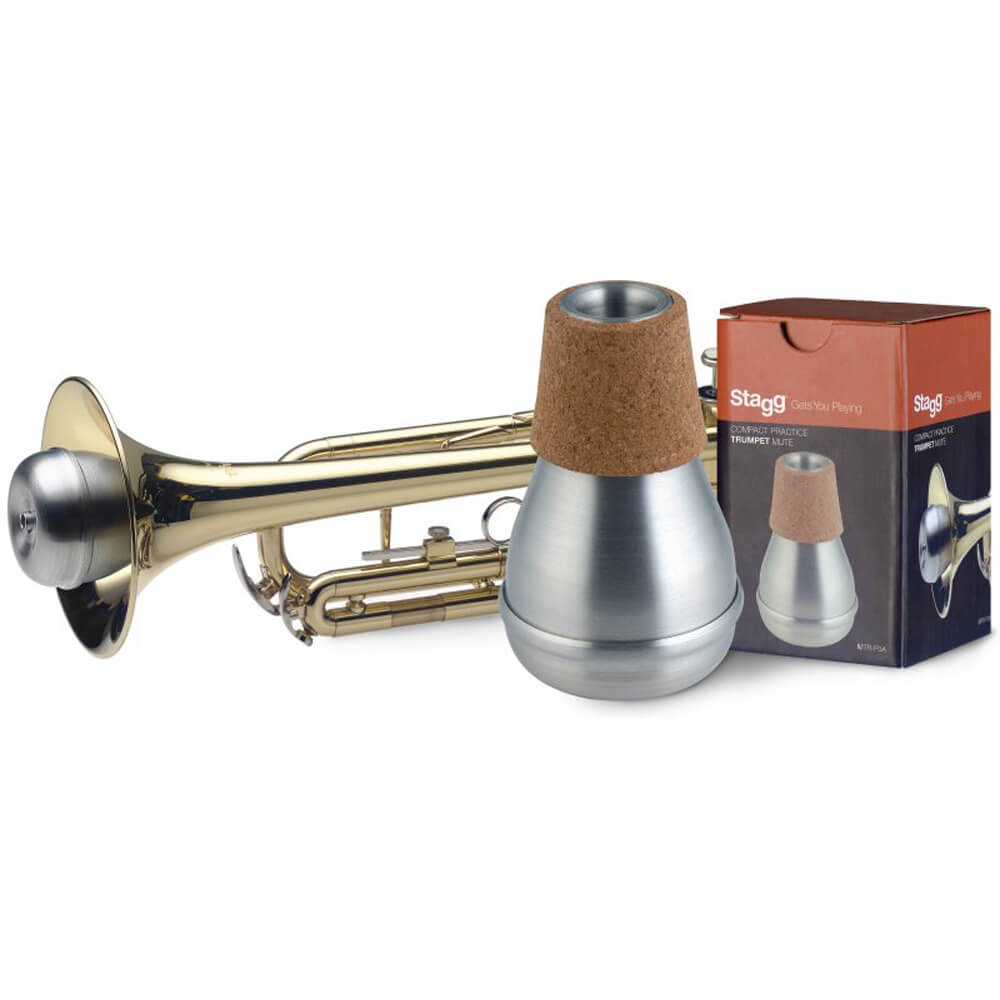 Stagg MTR-P3A Compact Practice Trumpet Mute