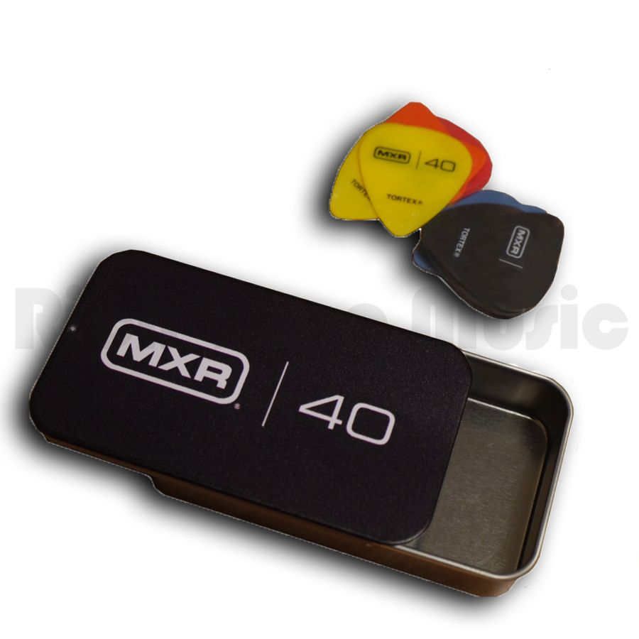 MXR Pick Tin with 12 Assorted Picks