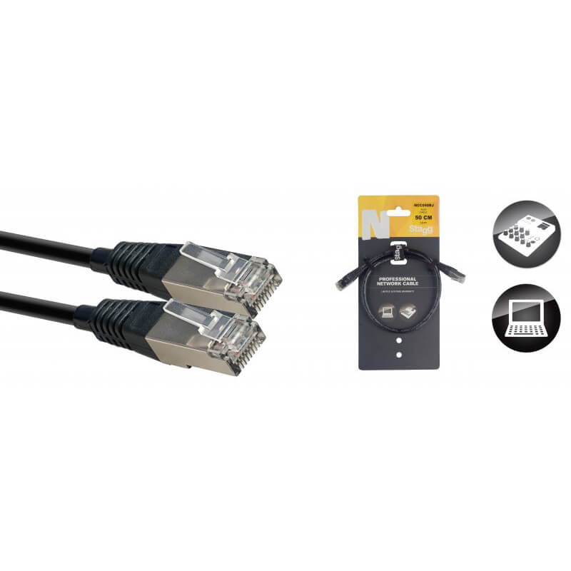 Stagg N-Series Network Cable - 50cm/1.6ft
