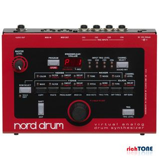 Nord Drum 4 Channel Virtual Analog Drum Synthesiser