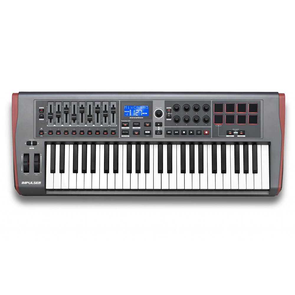 Novation Impulse 49 USB 49 Key Keyboard Controller