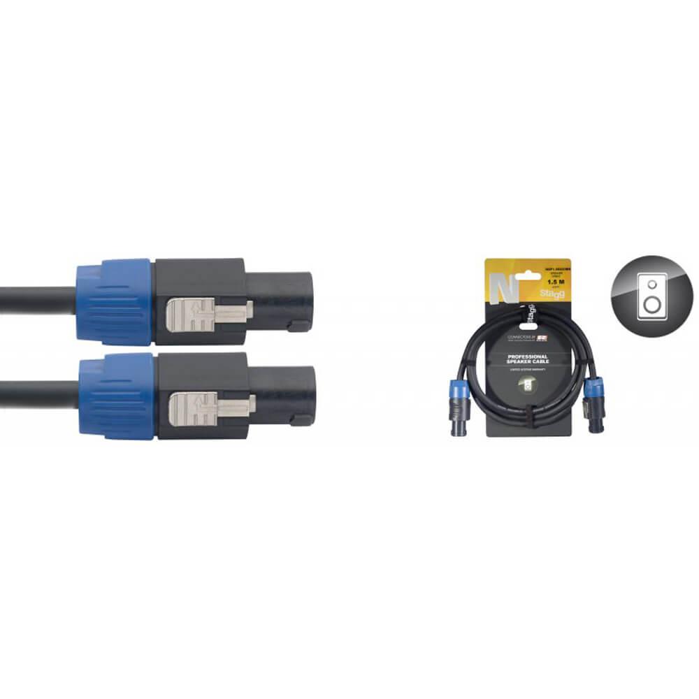 Stagg NSP3SS25BR N-Series Professional Speaker Cable - Speakon / Speakon