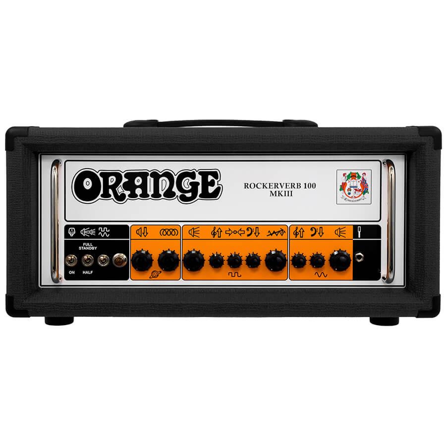 Orange Rockerverb MKIII 100 Watt Head - Black