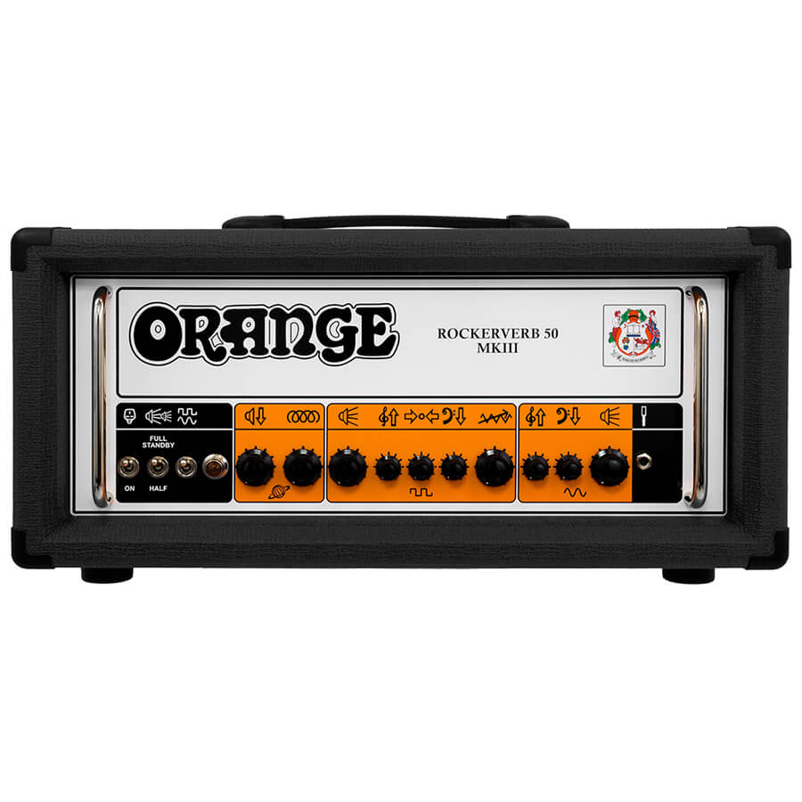 Orange Rockerverb MKIII - 50 Watt Head - Black