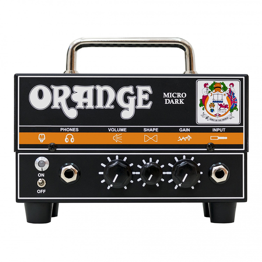 Orange Micro Dark Head Amplifier