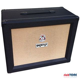 Orange PPC112 1x12 60w Guitar Speaker Extension Cabinet - Black