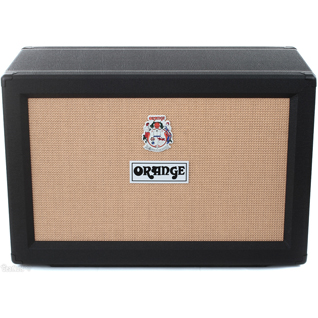 Orange PPC 212 OB Open Back 2x12 Cabinet - Black