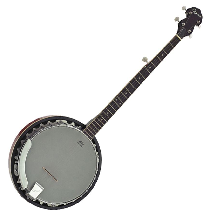 Ozark 2104G 5 String Banjo with Padded Cover