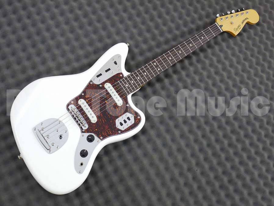 squier vintage modified jaguar olympic white rich tone music. Black Bedroom Furniture Sets. Home Design Ideas