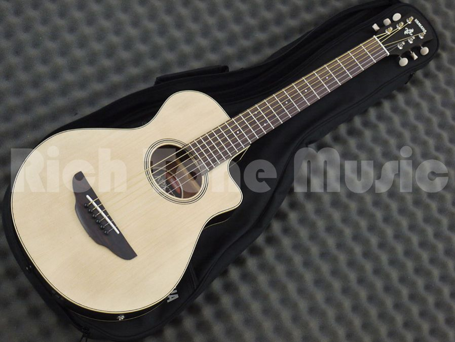 Yamaha apx t2 travel guitar natural rich tone music for Yamaha apx series