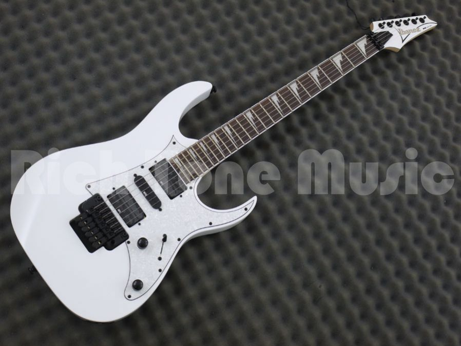 Ibanez Rg350dxz Electric Guitar White Rich Tone Music