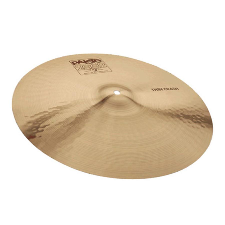 paiste 17 inch 2002 thin crash cymbal rich tone music. Black Bedroom Furniture Sets. Home Design Ideas