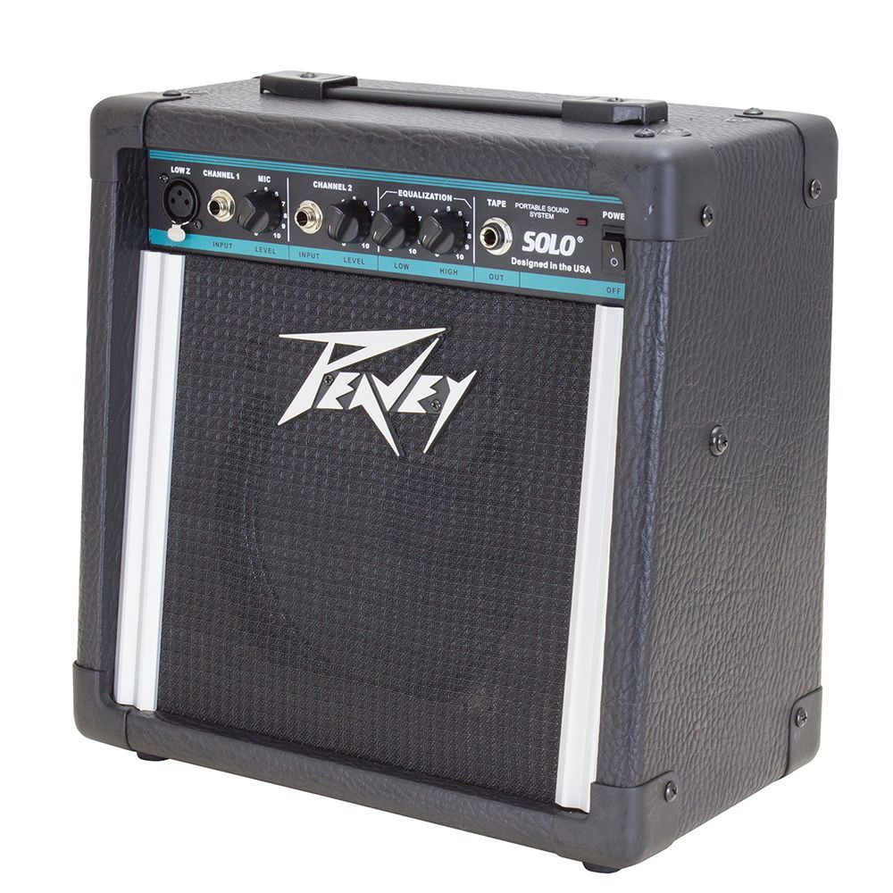 Peavey Solo Battery Powered Portable Pa System Rich Tone