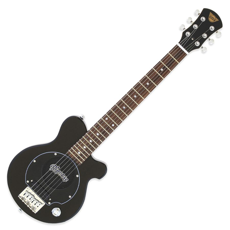 Pignose PGG-200 Mini Guitar w/ Built-in Amp - Black