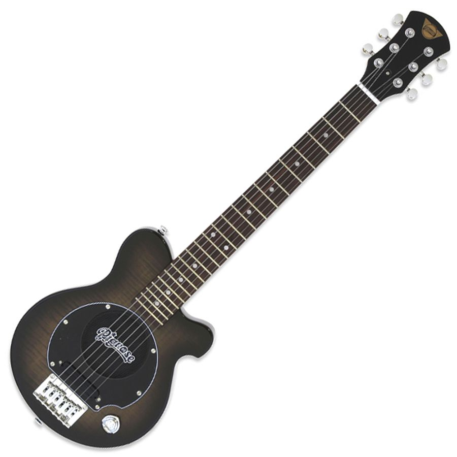 Pignose PGG-200FM Mini Guitar w/ Built-in Amp - See-Through Black