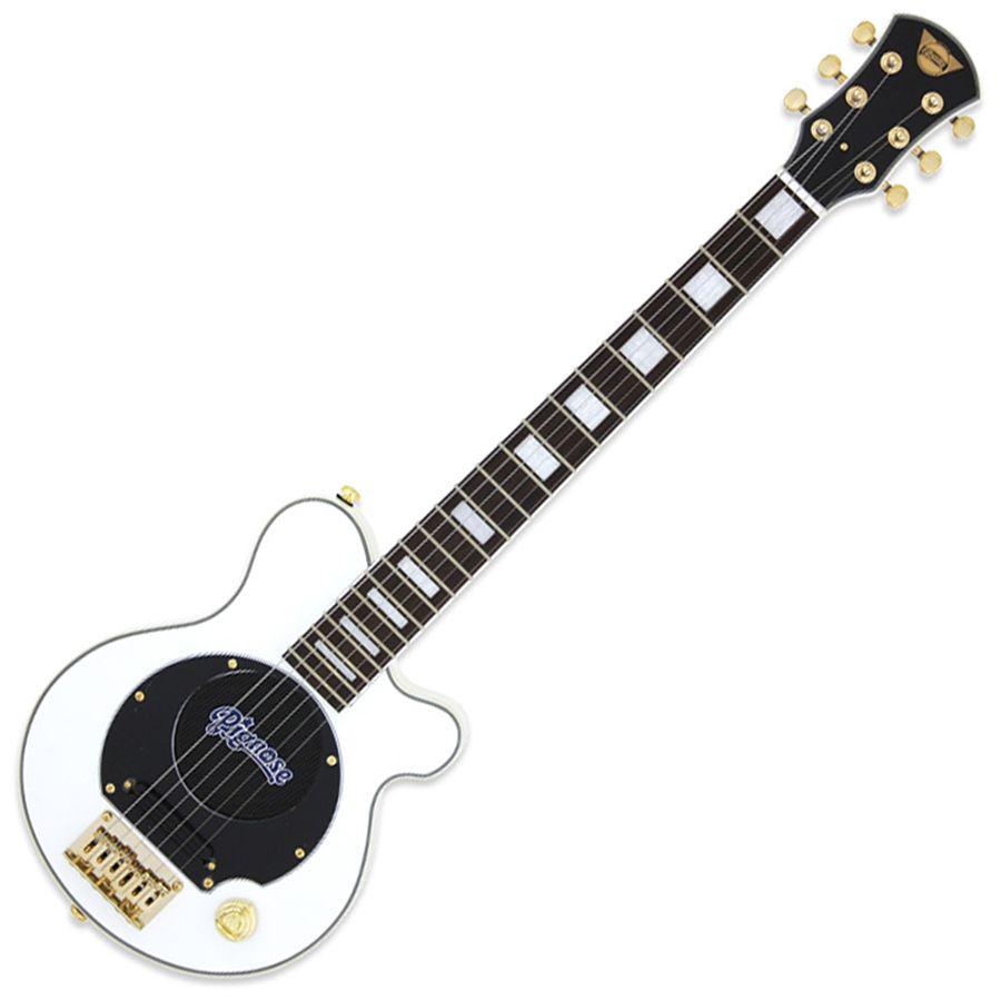 Pignose PGG-259 Mini Guitar w/ Built-in Amp - White