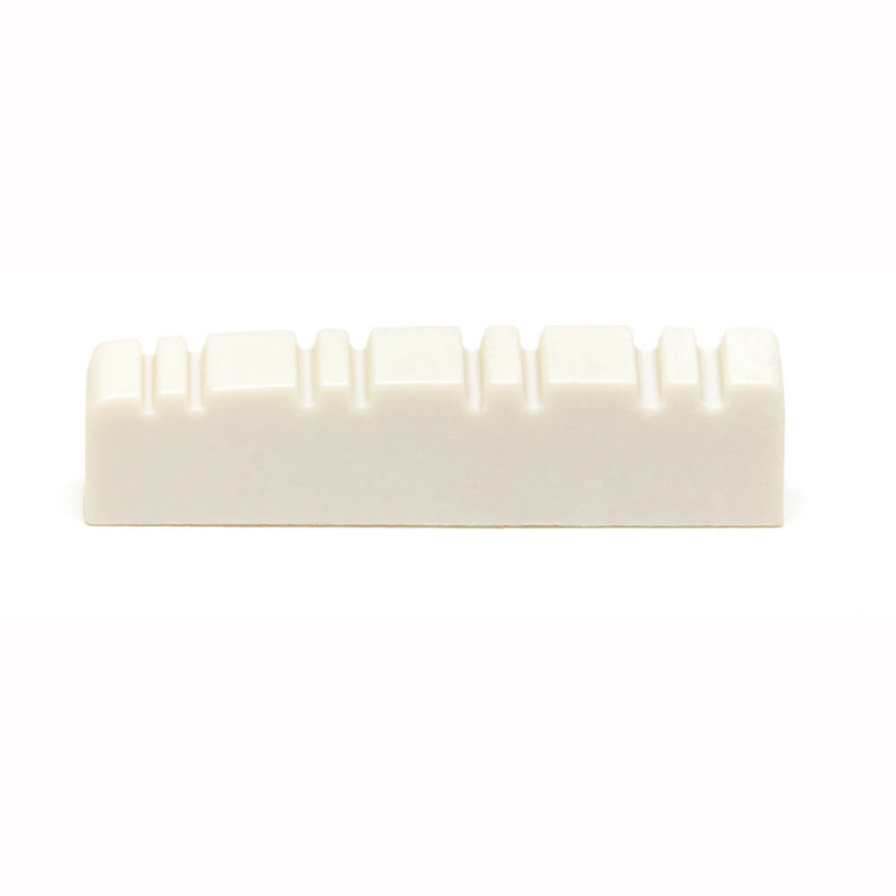 Acoustic Guitar nut Graphtech  TUSQ lefty - Sattel Flat Bottom // Slotted