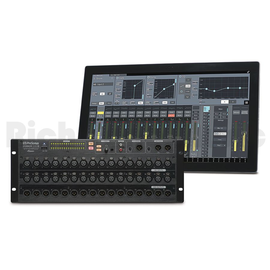 presonus studiolive rm32ai rack mount digital mixer rich tone music. Black Bedroom Furniture Sets. Home Design Ideas