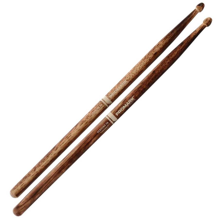 promark rebound 5b firegrain drum sticks rich tone music. Black Bedroom Furniture Sets. Home Design Ideas