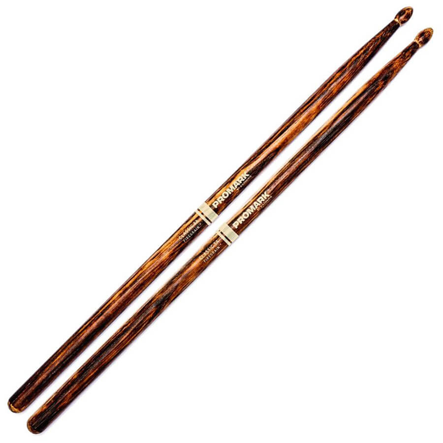 Promark Classic 5A FireGrain Drum Sticks