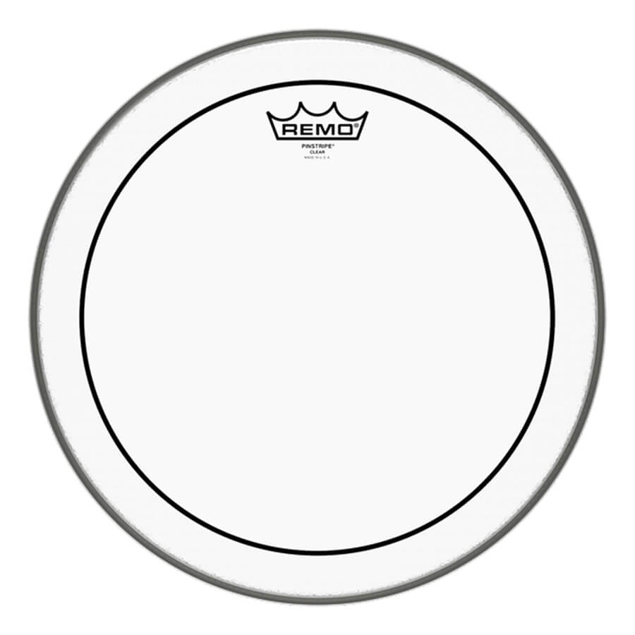 """Remo PS-0314-00 Pinstripe Clear Drum Head, 14"""""""