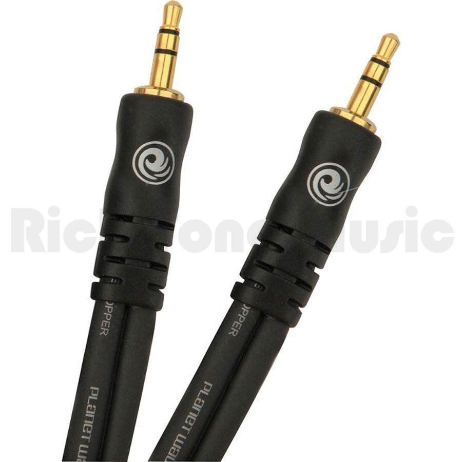 Planet Waves PW-MC-03 Mini Jack-Mini Jack 3ft Stereo Cable