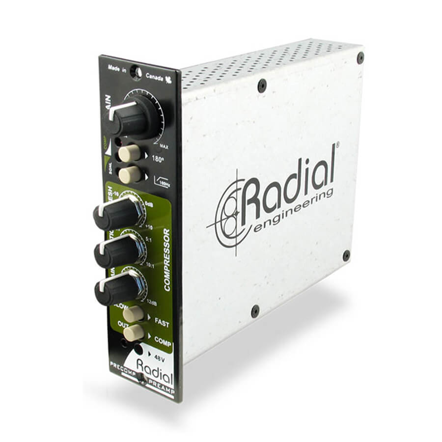 Radial Workhorse PreComp Channel Strip with compressor - 500 Series