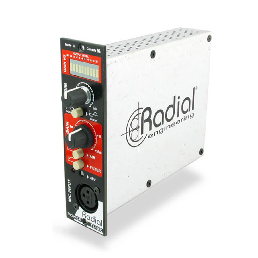 Radial Workhorse PowerTube Tube Preamplifier - 500 Series