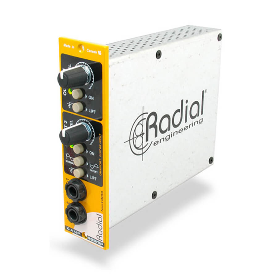 Radial Workhorse X AMP 500 Reamper- 500  Series