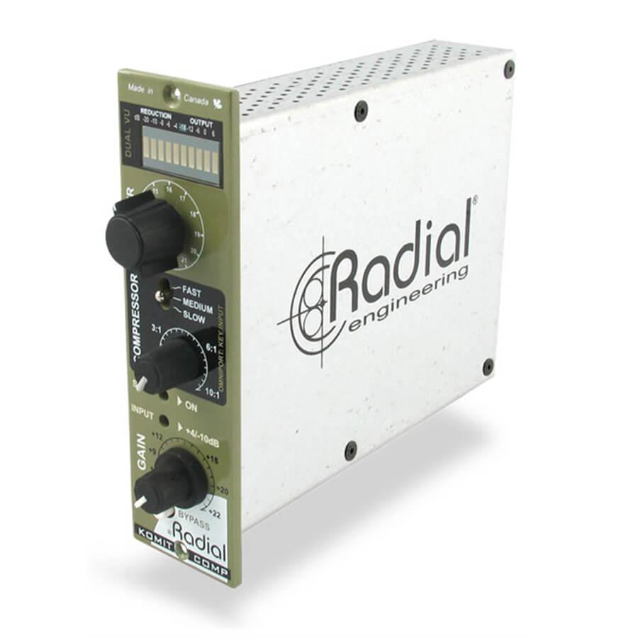 radial workhorse komit 500 compressor limiter 500 series rich tone music. Black Bedroom Furniture Sets. Home Design Ideas