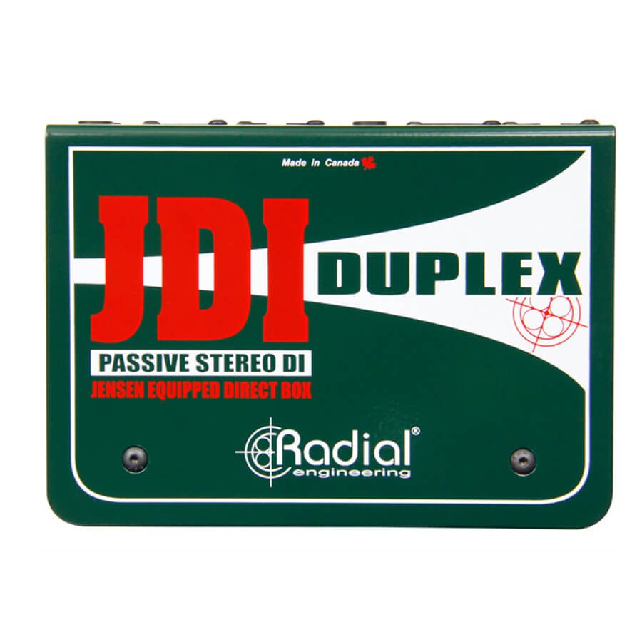 Radial JDI Duplex 2-Channel passive direct box