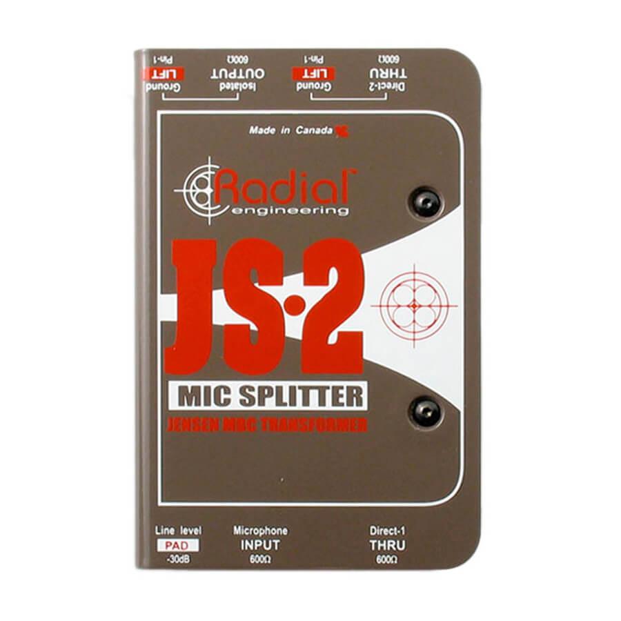 Radial JS2 2-way mic splitter