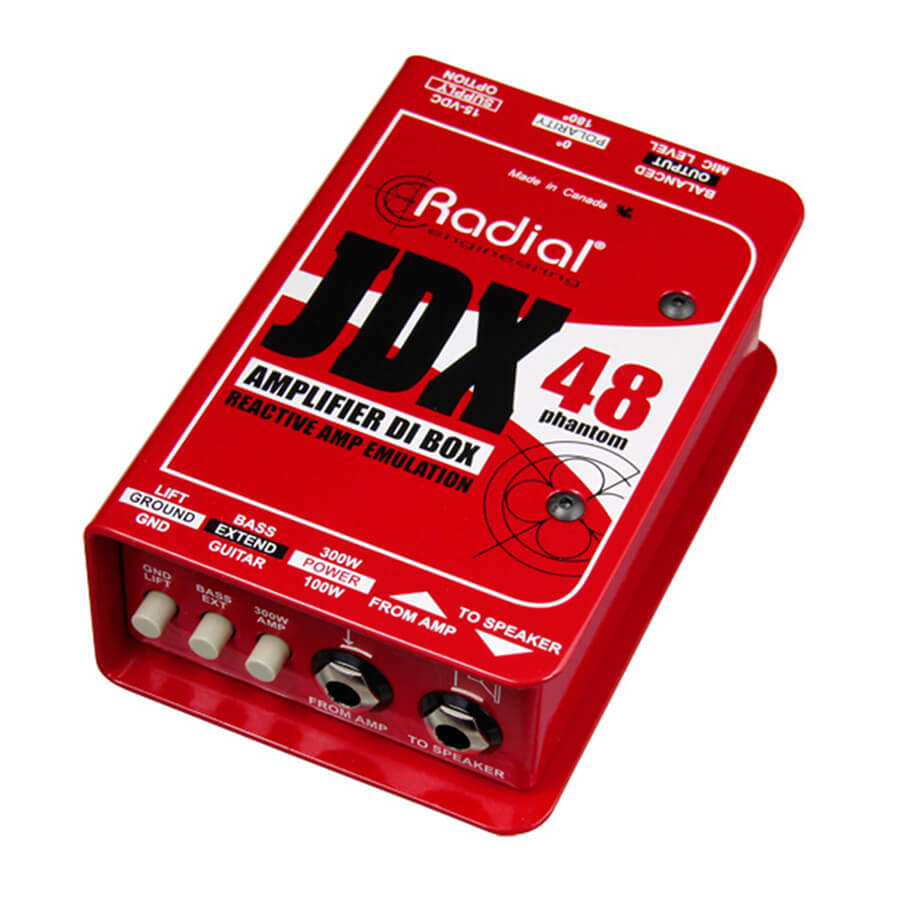 Radial Engineering JDX-48 Amplifier direct box